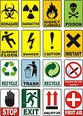 Useful Warning Symbols