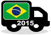 2015 lorry Brazil