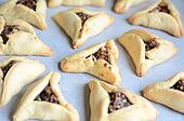 Purim Jewish Holiday food - Hamentashen, Ozen Haman