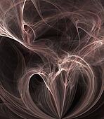 Smoke Tangles Abstract