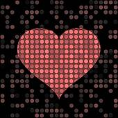 speckled heart