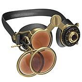 Round retro style sunglasses