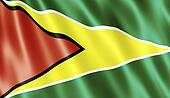 Co-operative Republic of Guyana Flag
