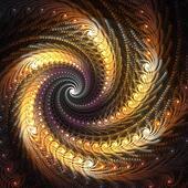 Spiraling Abstract