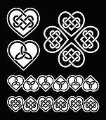 Irish, Scottish celtic pattern