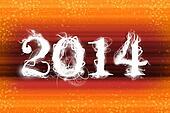 2014 orange wallpaper