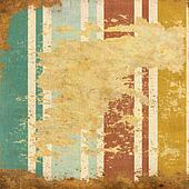 vintage  striped background with spots