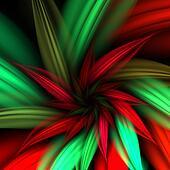 Poinsettia Fractal