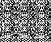 Seamless ancient damask pattern