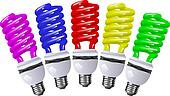 Energy saving lamp color