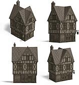Medieval Houses - Pub