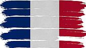 France Flag tinted horizontal texture