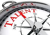talent indicated by concept compass