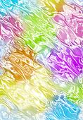 wavy blurred color pattern