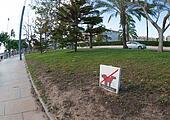 Dog walking is prohibited