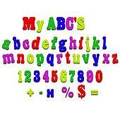 jpeg fridge magnet alphabet spelling letters