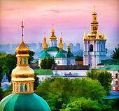 Element of Orthodox Monastery.
