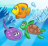 Cute marine animals 3