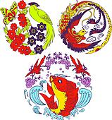 classic oriental design