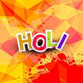Beautiful background of indian festival colorful holi texture vector