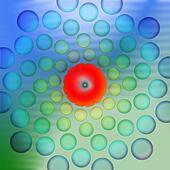Blue Green Back Drop