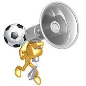 Soccer Football Megaphone