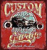 custom rod garage