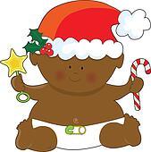 Baby Christmas Black