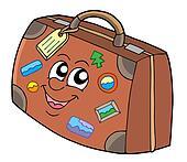 Cute suitcase