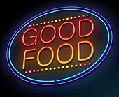 Good food concept.