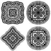 Set of Mandala