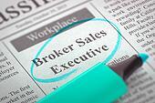 Now Hiring Broker Sales Executive.