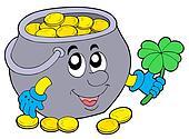 Lucky pot of money