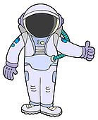 Space Suit Stock Illustrations - Royalty Free - GoGraph