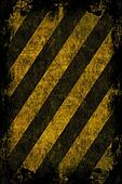 Grunge Hazard Stripes