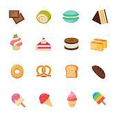 Set of Dessert Icon