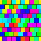 Rainbow tiles seamless texture
