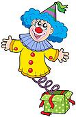 Clown from box