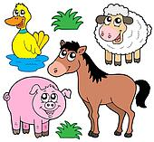 Farm animals collection 5