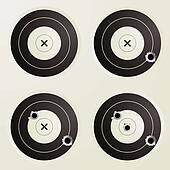 target bullet set