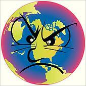 Overheated Earth is depressed