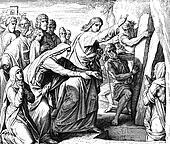 Jesus Calls to Lazarus