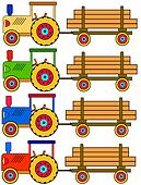 tractors with trailers