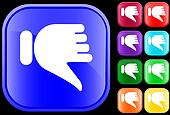 Icon of thumbs down