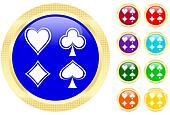 Icon of card\'s suits