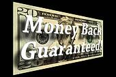 Money Back Guaranteed Concept