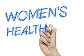 Hand writing women's health