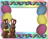 Easter Candy Frame Border