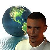 Barack Obama 3d model