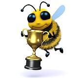 3d Bee champion